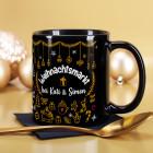 Weihnachtsmarkt-Tasse mit Ihrem Wunschtext