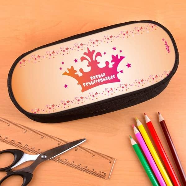 Stiftebox für Prinzessinnen mit Krone