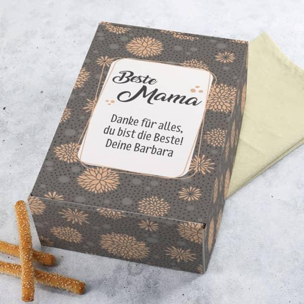 Geschenkverpackung für die Beste Mama