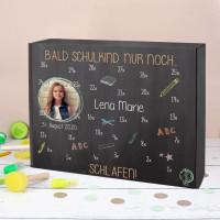 Schulstart Kalender mit Countdown - persönlich mit Ihrem Foto bedruckt