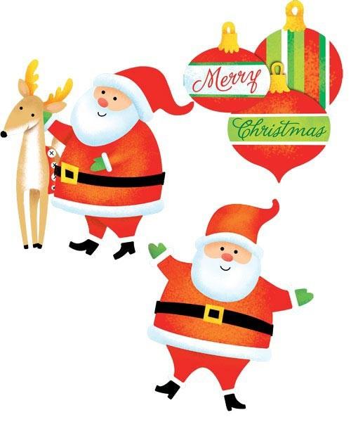 Wanddeko Weihnachten