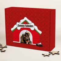 Adventskalender für Hunde zum selber Befüllen