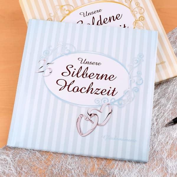 Album zur Silbernen Hochzeit
