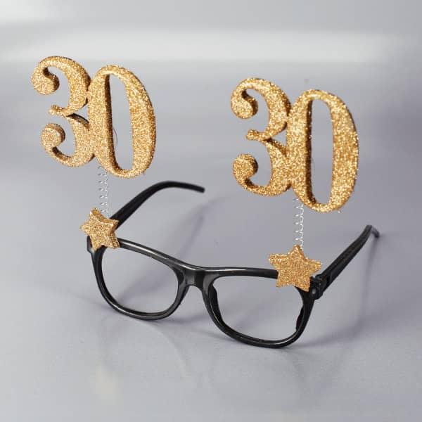 Brille zum 30. Geburtstag