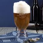 Bierglas mit Individueller Gravur und integriertem Schnapsgläschen