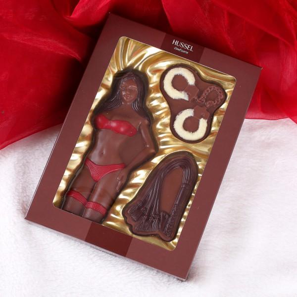 Frau für gewisse Stunden - Schokoladen-Set von Hussel