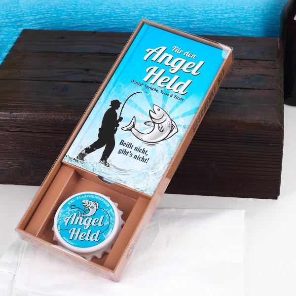 Geschenkset Angel Held mit XXL Öffner