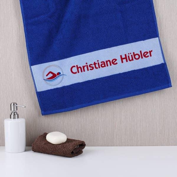 Individuellbadzubehör - Persönliches Handtuch für Schwimmer - Onlineshop Geschenke online.de
