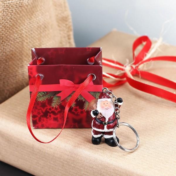 Weihnachtsmann Schlüsselanhänger