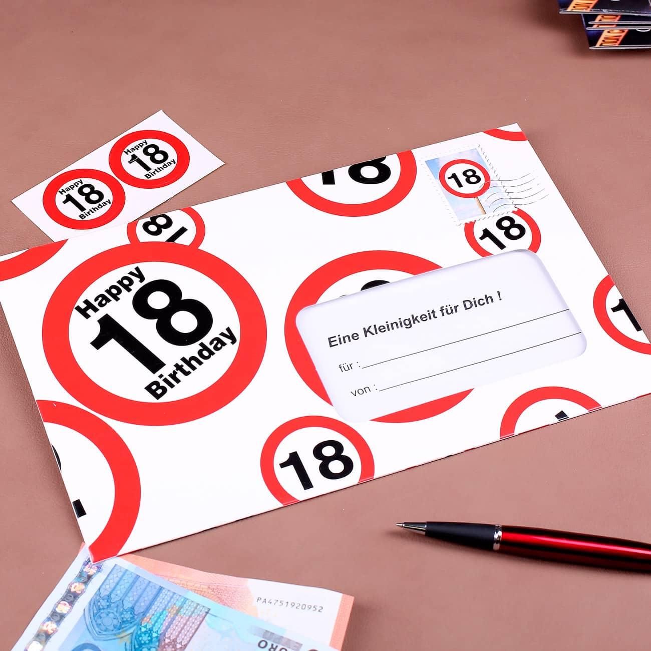 Grusskarten Zum 18 Geburtstag Karten Gluckwunsch