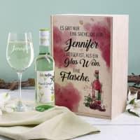 Weinset mit Biorebe für Weinliebhaber
