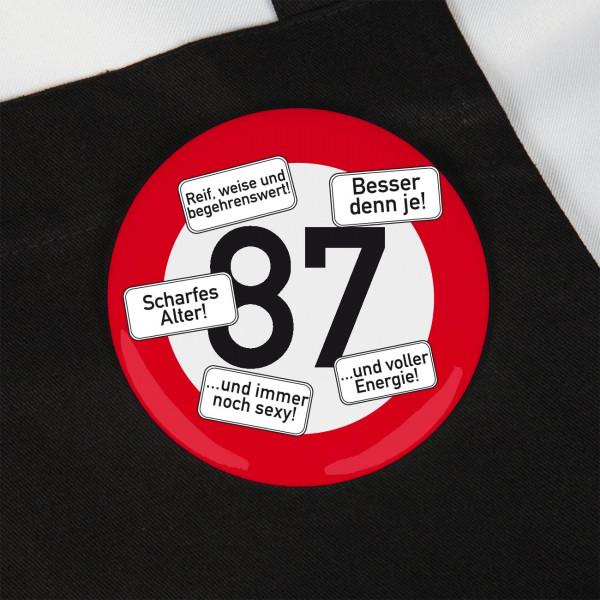 Button zum 87. Geburtstag