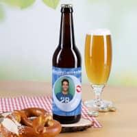 Bieraufkleber Partyspass mit Wunschname, Text und Bild