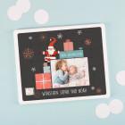 Schiebepuzzle Frohe Weihnachten mit Foto und Wunschtext