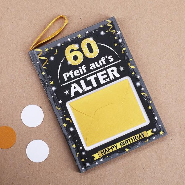 Männer Geschenkbuch zum 60.
