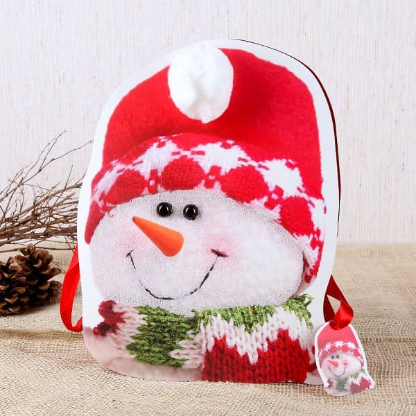 Geschenktüte Schneemann