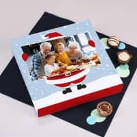 100 g Lindt Pralinen mit weihnachtlicher Verpackung und Ihrem Foto