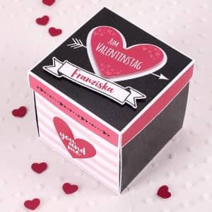 Geschenkverpackungen zum Valentinstag