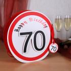 Geschenktüte Happy Birthday 70