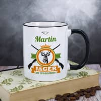 Jäger aus Leidenschaft - Tasse mit Name
