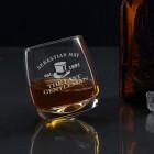 Originelles Whiskyglas für aussergewöhnlichen Gentleman mit hochwertiger Gravur