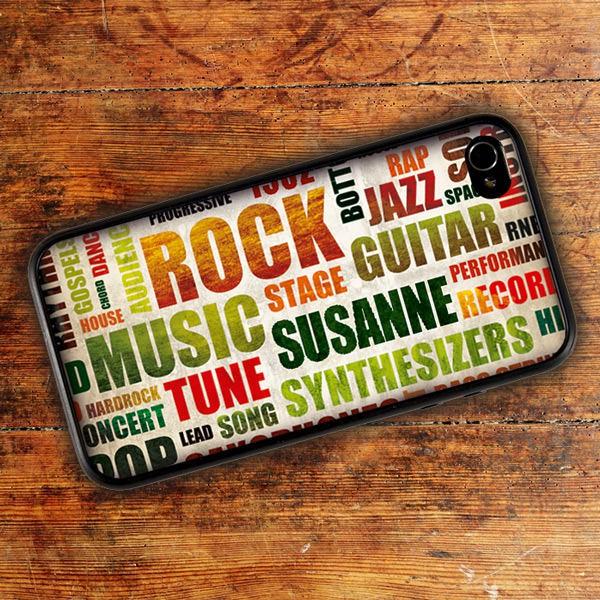Handycover für iPhone 4(s) mit Rockstar-Motiv