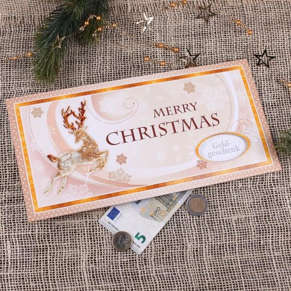 XXL Gutscheinkuvert - Merry Christmas
