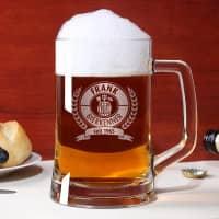 Personalisiertes Bierseidel für Bierkenner