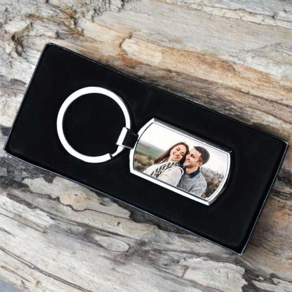 personalisierter Schlüsselanhänger mit Ihrem Foto