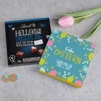 Lindt-Pralinen zu Ostern mit Ihrem Wunschtext, 100 g
