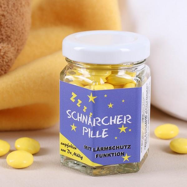 gelbe Pillen aus Traubenzucker