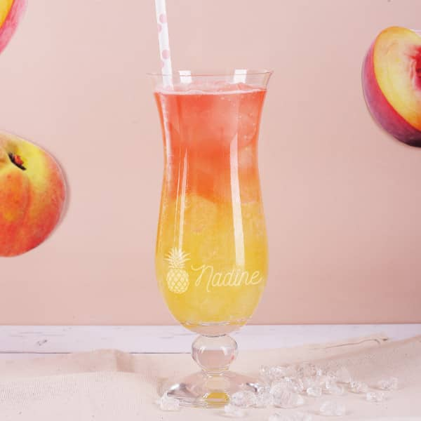 graviertes Cocktailglas