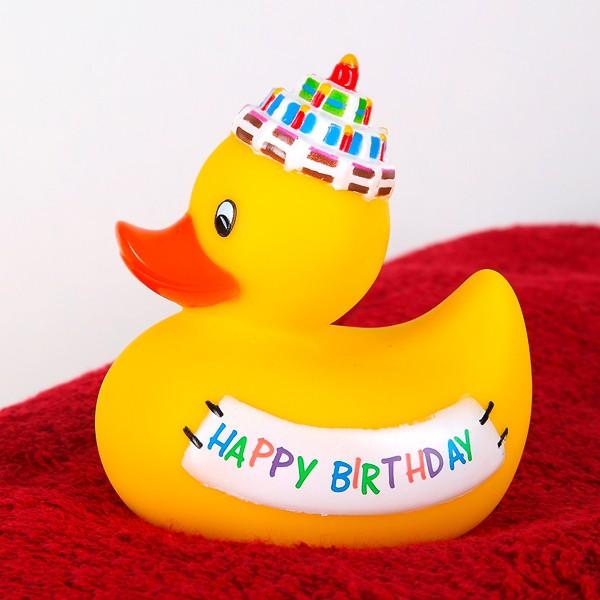 Badeente zum Geburtstag