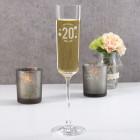 Graviertes Sektglas - Happy Birthday