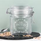Einmachglas zu Ostern mit Ihrem Wunschnamen
