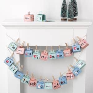 DIY-Adventskalender für Kinder
