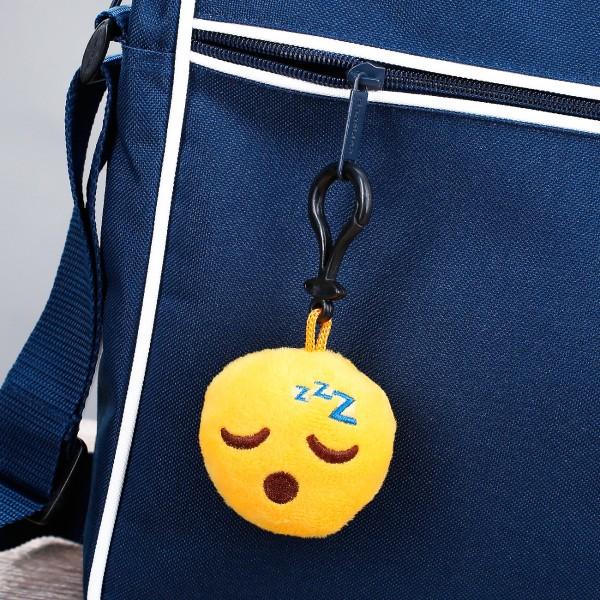 Mini-Schlüsselanhänger mit schlafendem Emoticon