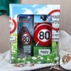 Das lustige Geschenkset zum 80. Geburtstag, Duschgel & Seife