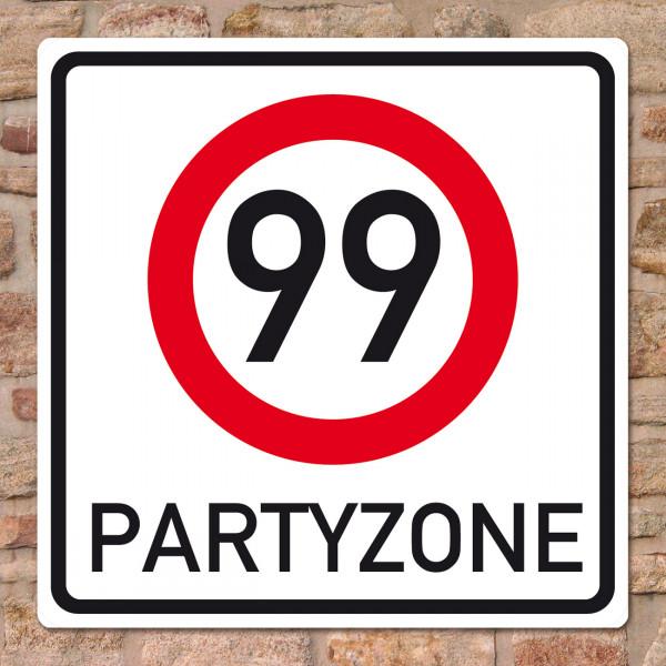 Partyzone zum 99. Geburtstag