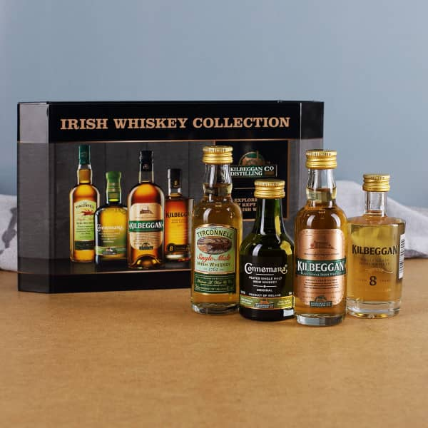Cooleys Irish Whiskey Collection im 4er