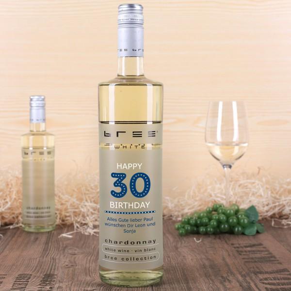 Zum 30. Geburtstag das perfekte Wein-Geschenk