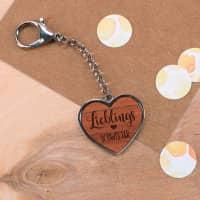 Lieblings... Schlüsselanhänger mit Holz