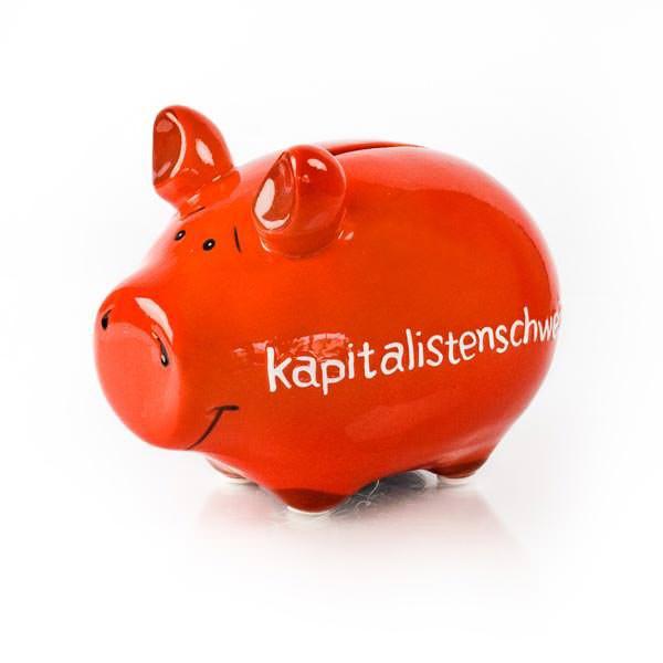 Rotes - Kapitalistenschwein - klein