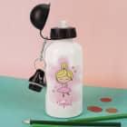 Trinkflasche mit Ballerina und Ihrem Wunschnamen