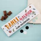 Schokolade als Dankeschön für Erzieher - Danke, dass Du uns beim Wachsen geholfen hast!