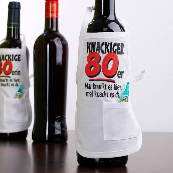 Flaschenschürze 80 knackig