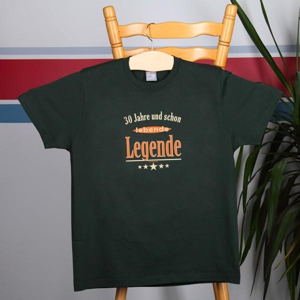 T-Shirt 30 Jahre und schon lebende Legende