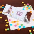 Knuddelhorn-Schokolade mit Wunschtext und Name