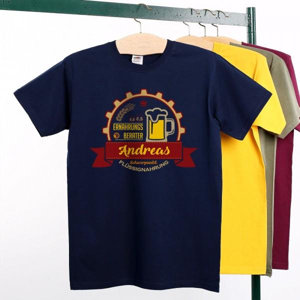 Lustiges Herren T Shirt für Bier Liebhaber