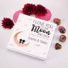 Lindt Pralinen - I love you to the Moon and back - zum Valentinstag